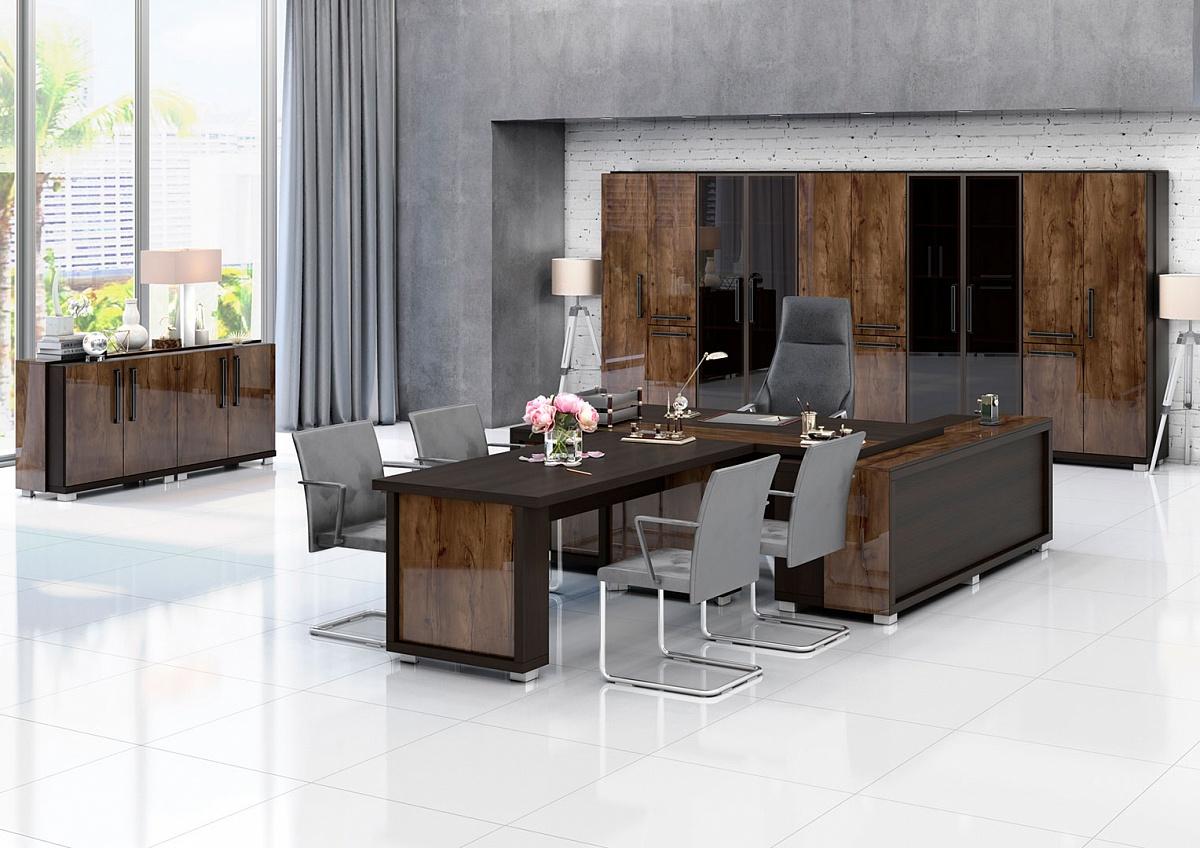 комплект мебели для домашнего или офисного кабинета